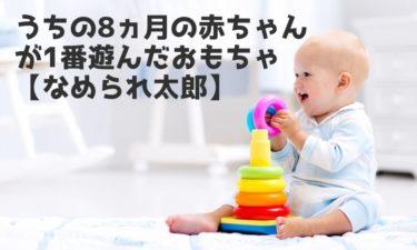 うちの8ヵ月の赤ちゃんが1番遊んだおもちゃ【なめられ太郎】
